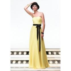 žluté plesové šaty Agnes 1