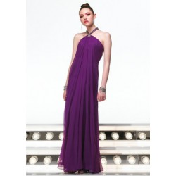 fialové plesové šaty Agnes 2