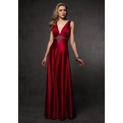 rudé plesové šaty Agnes 4