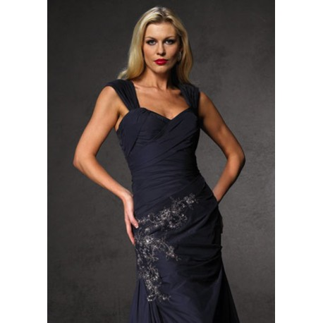 černé plesové šaty Agnes 5