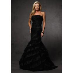 černé plesové šaty Agnes 6
