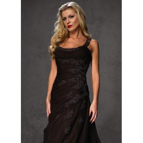 černé plesové šaty Agnes 8
