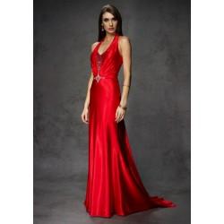 červené plesové šaty Agnes 10