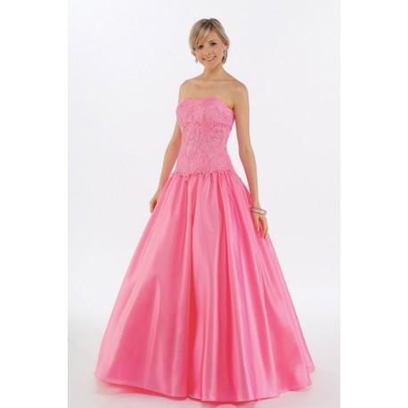 růžové plesové šaty Agnes 13