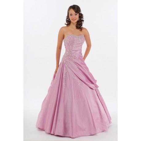 fialové plesové šaty Agnes 14
