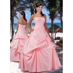 růžové plesové šaty Agnes 19