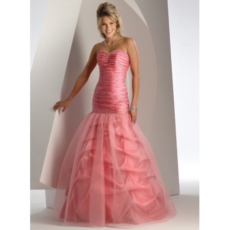 růžové plesové šaty 22
