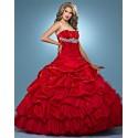 plesové šaty Chloe 35 červené