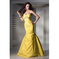 luxusní žluté plesové šaty Chloe 35