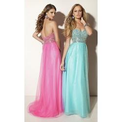 Dlouhé společenské šaty na maturitní ples - levné plesové šaty na ... c51a150d12