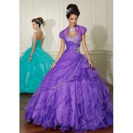 101f984b7ca luxusní plesové šaty fialové Mandy 26 - Hollywood Style E-Shop ...