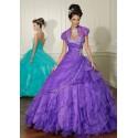 luxusní plesové šaty fialové Mandy 26