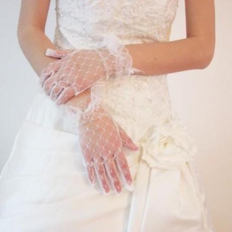 slonovinové svatební rukavičky