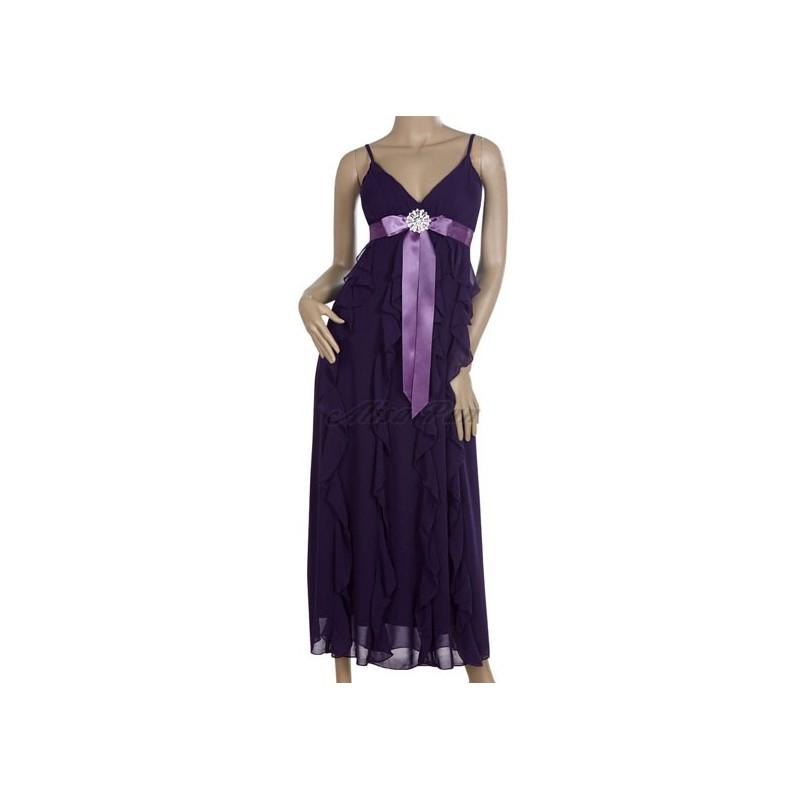 dlouhé fialové společenské letní šaty M - Hollywood Style E-Shop ... e1cfc62f6e