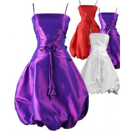 Sofia koktejlky společenské krátké šaty - červené 258526d107
