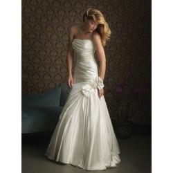 smetanové svatební šaty Brue