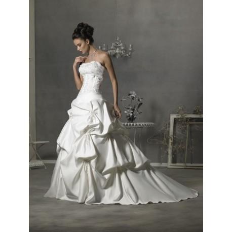 extra luxusní svatební šaty Deron