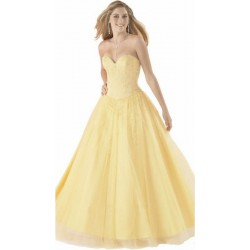 žluté společenské plesové šaty S-XL