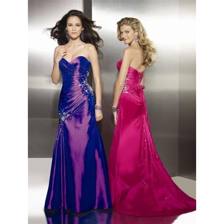 Sarah plesové společenské fialové šaty M-L
