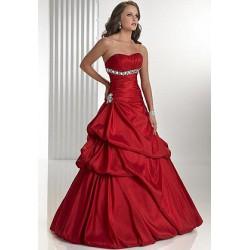 plesové společenské šaty Chloe 61 červené
