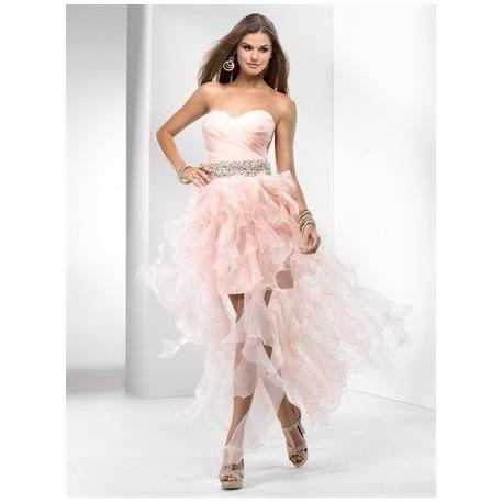 plesové společenské šaty Mandy 26 růžové, modré a fialové