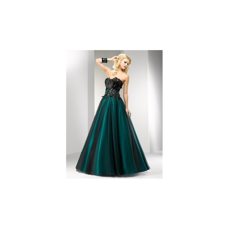 4e81b88941f plesové společenské šaty Mandy 39 zelené a fialové - Hollywood Style ...