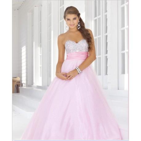 aa16b82d760 plesové společenské růžové šaty Samantha L-XL - Hollywood Style E ...