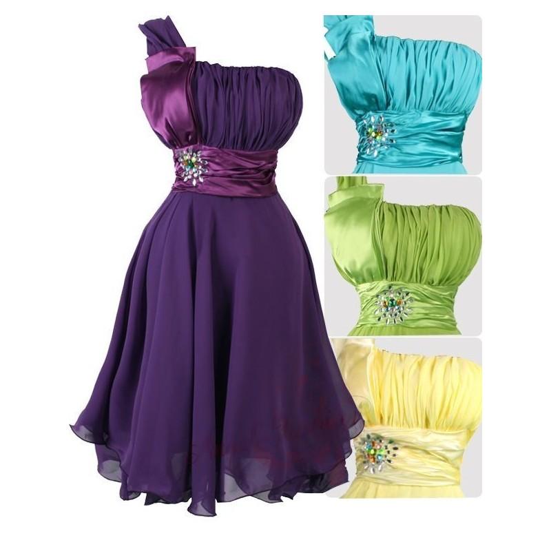 ... Sofia společenské krátké šaty - žluté 995ae85c5a