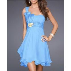 Sofia modré krátké společenské šaty S-M a M-L - Hollywood Style E ... 3bb76bb1d1