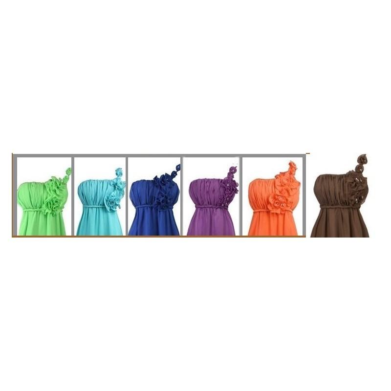 Sofia barevné společenské dlouhé šaty · Sofia barevné společenské dlouhé  šaty 8d6ff08f00