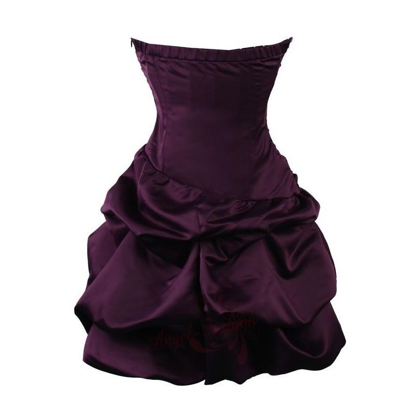 ... Sofia koktejlky krátké společenské šaty - fialové 18846135be