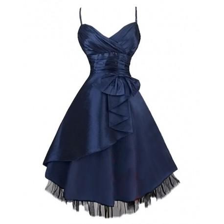 9421551ce Sofia krátké společenské modré šaty XXL-XXXL - Hollywood Style E ...
