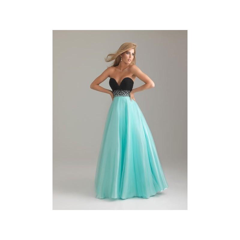 luxusní modro-černé plesové společenské šaty na maturitní ples Mandy S-M 5240e64445
