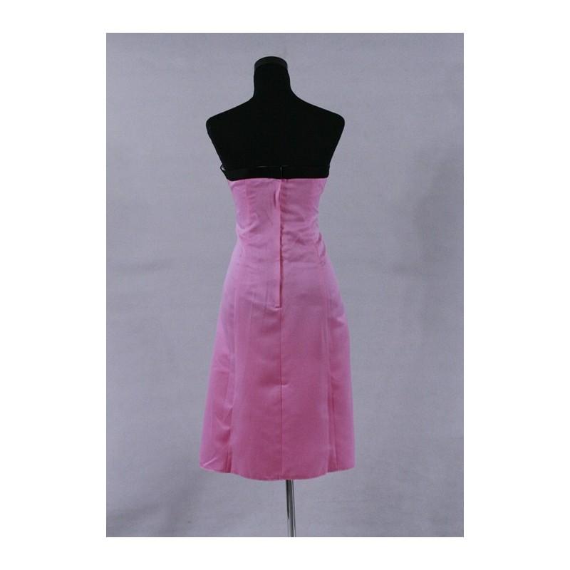 5105e33bad7 krátké růžové koktejlové společenské šaty XL - Hollywood Style E ...