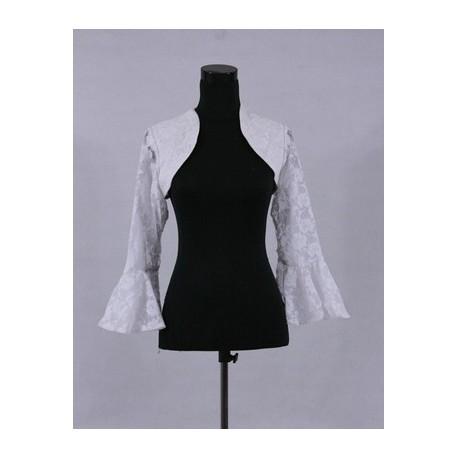 bílé krajkové svatební bolerko - Hollywood Style E-Shop - plesové a ... 5ff5fac581