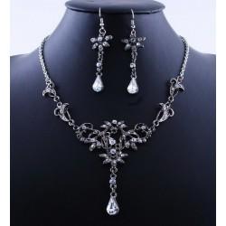 luxusní souprava - náhrdelník, náušnice