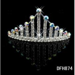brzy štrasová korunka Crown pro nevěstu