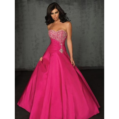 luxusní plesové růžové šaty na maturitní ples Pinky M-L - Hollywood ... 1064859cbf