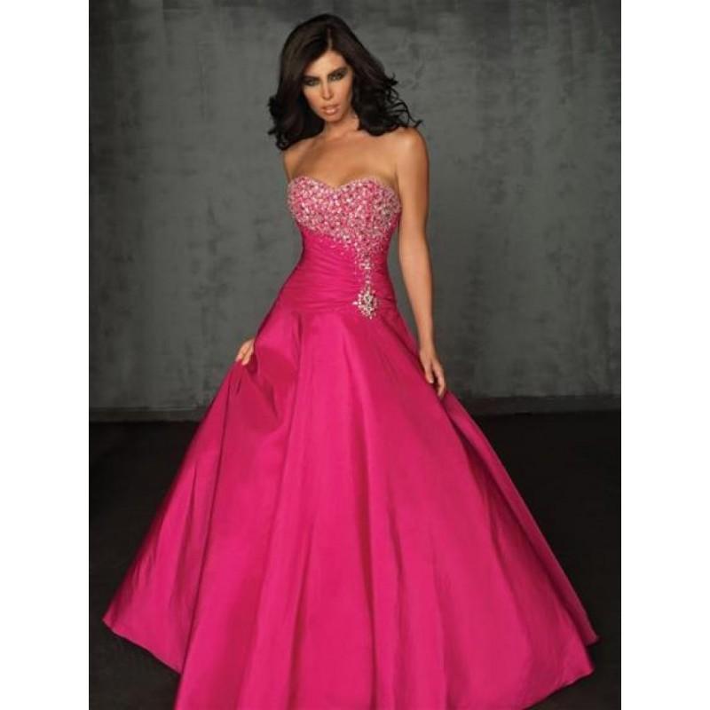 d4b749c080a luxusní plesové růžové šaty na maturitní ples Pinky M-L - Hollywood ...