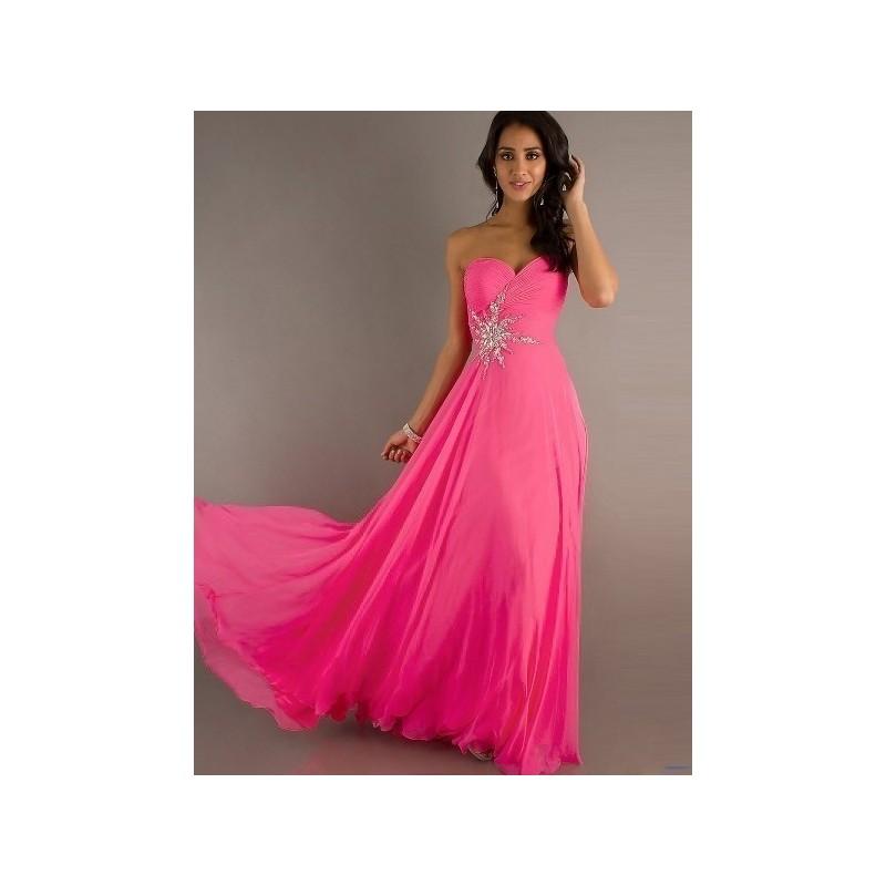 tmavě růžové plesové společenské šaty Gabrielle XS-M - Hollywood ... ff6479664dd