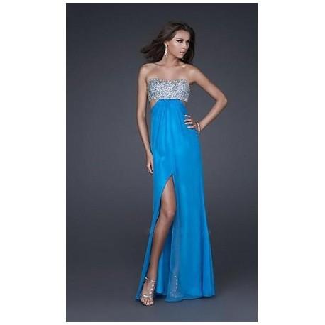 Výprodej! sexy modré plesové společenské šaty s průstřihy Jenny XS-S 8d76f501f15