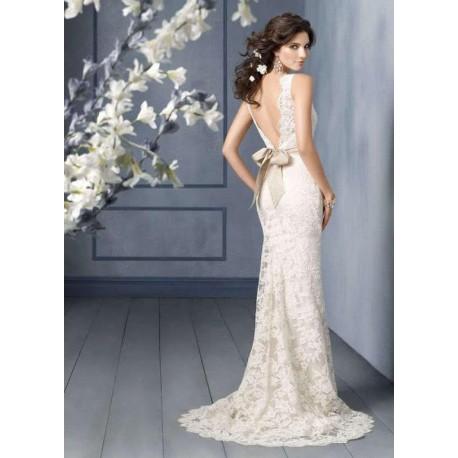 Krajkove Ivory Svatebni Saty Rosabella S Hollywood Style E Shop