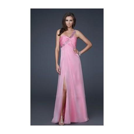 31765057d2a3 Výprodej! světle růžové plesové společenské šaty na jedno rameno XXS-XS