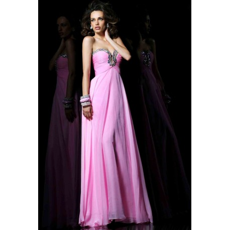 2b354f787b6f sexy růžové plesové společenské šaty Jody s hlubokým výstřihem S-M ...