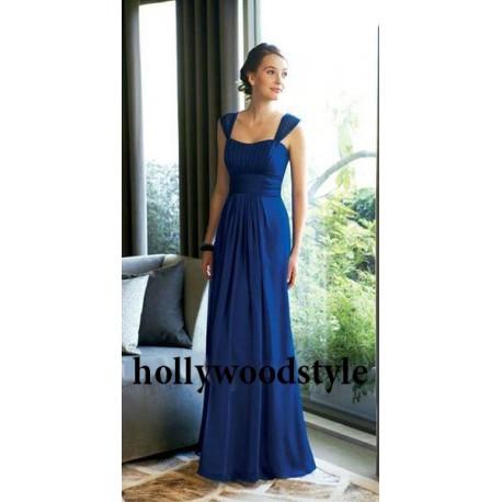 modré společenské šaty dlouhé Bonnie M-L