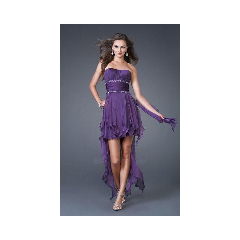 5b5a9bed3872 polodlouhé fialové společenské šaty Helen XXL-XXXL - Hollywood Style ...