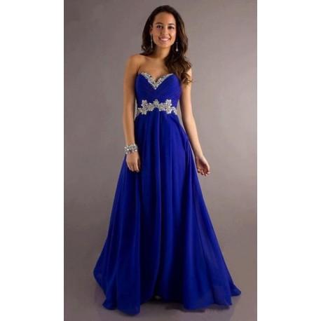 Výprodej! luxusní tmavě modré plesové šaty Selena M-XL 0af5dbe19af