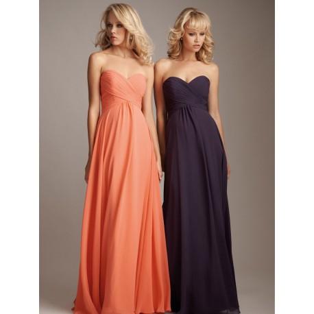 jednoduché oranžové společenské plesové šaty Abi  XL-XXL