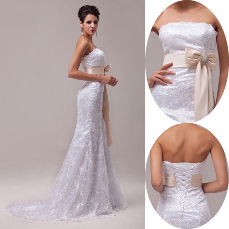 krajkové svatební šaty Lilly M-L - Hollywood Style E-Shop - plesové ... 46fec727f63