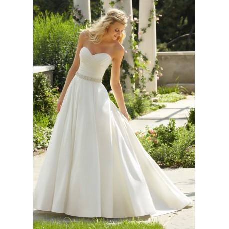 svatební šaty bílé Wanda M-L